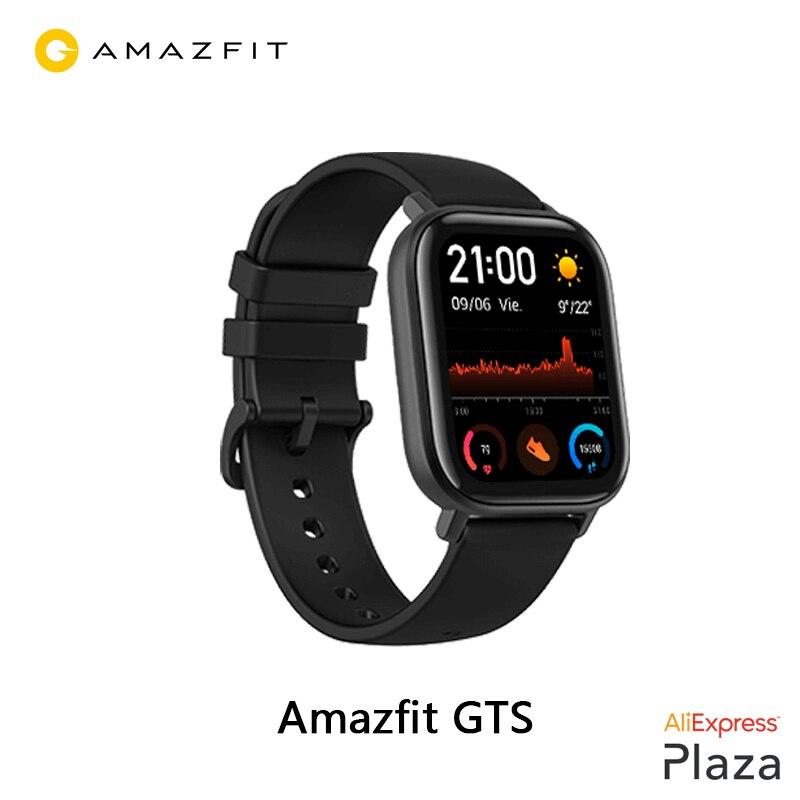 Xiaomi Huami Amazfit GTS Smartwatch (nuevo reloj inteligente,impermeable natación,bluetooth,GPS,deporte)[Versión Global]