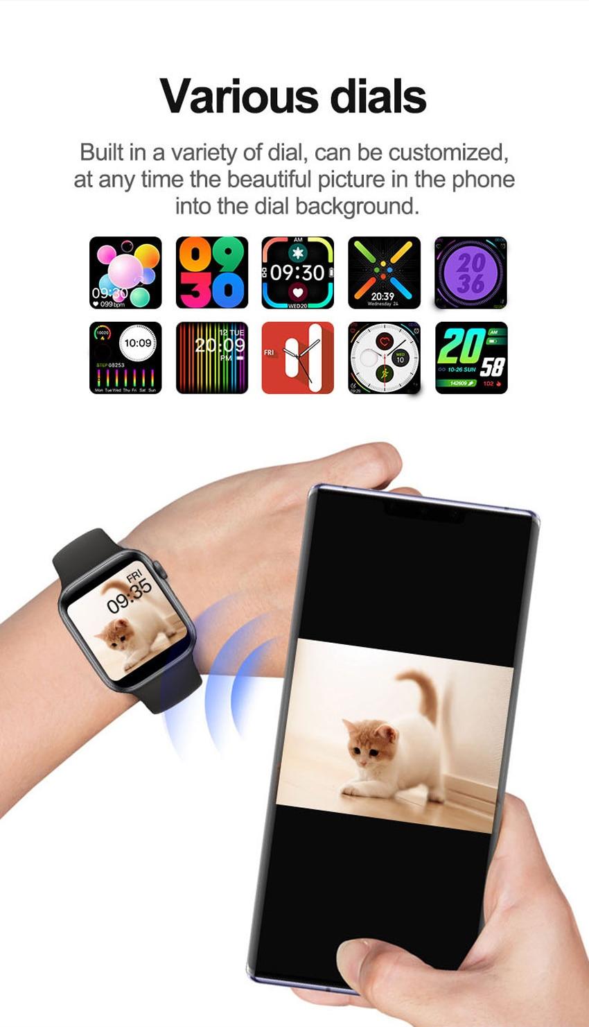 Uaf437780b86c4e2ca4d7cc1bb0b26f29Y U78 Plus Smart Watch Bluetooth Phone Call Smartwatch