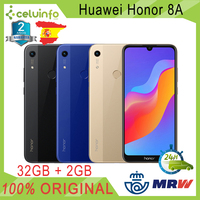 Huawei Honor 8A 32G + 2G RAM with Footprint ID 6,09 Gold Blue Black posted 2 Years official guarantee Sent from Spain