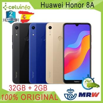 Перейти на Алиэкспресс и купить Huawei Honor 8A 32G + 2G RAM с отпечатком пальца ID 6,09 дюймЗолотой синий черный отправлено 2 года официальная гарантия отправлено из Испании