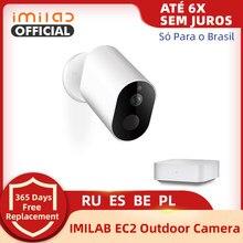 IMILAB EC2 kamera bezprzewodowa 1080P aparat Ip HD WiFi kamera zewnętrzna inteligentny bezpieczeństwo w domu kamery IP66 CCTV wideo kamera monitorująca