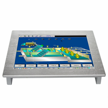 цена на 10.4 inch wall mounted industrial touch screen panel pc with j1900 Built in 4G ram 64G SSD all in one pc