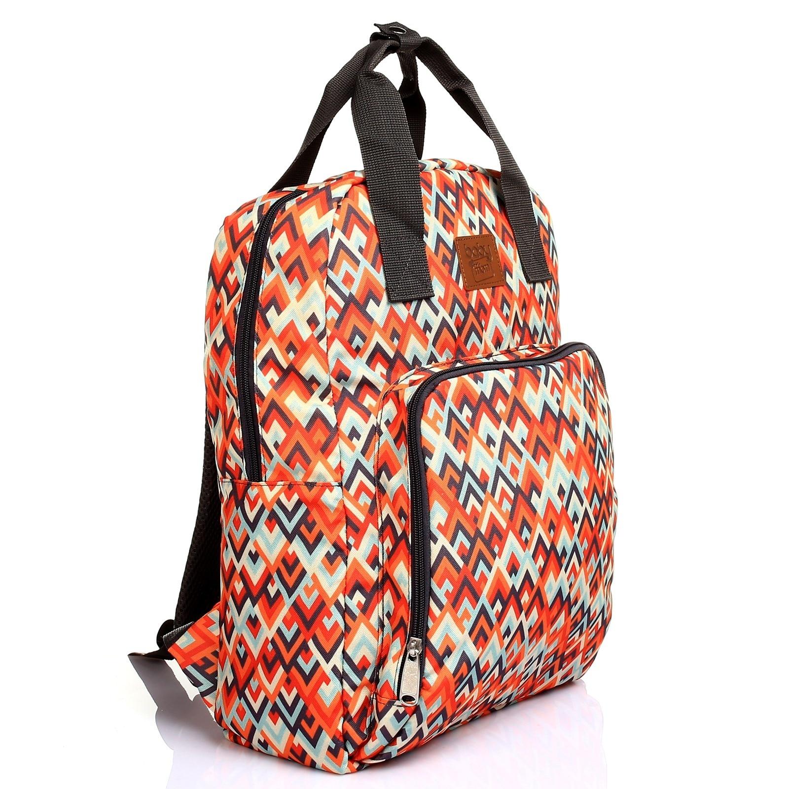 Ebebek Babymom Baby&Mom Printed Backpack