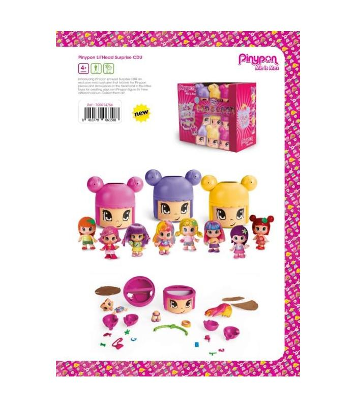 Pin And Pon Lil'Head Surprise Toy Store Articles Created Handbook