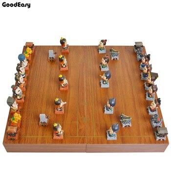 Три царства китайские шахматы складные шахматные доски китайские шахматные фигуры/подарок родителю ребенку