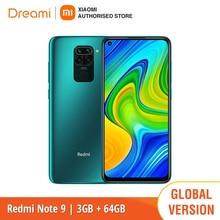 Global Version Xiaomi Redmi Note 9 3GB RAM 64GB ROM (Brand New / Sealed) redminote9, Smartphone mobile