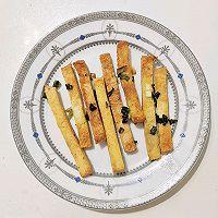 黄油葱香虾蓉吐司块的做法图解9