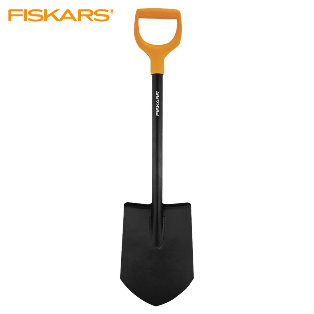 Shovel штыковая укороченная Fiskars Solid Tools Showel Garden Tools Shovel For Earthworks Snow Showel