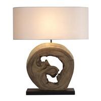 Desk Lamp Walnut (55 X 20 x 70 cm)   -