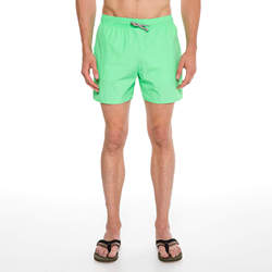 Routefield Volt Light Green Mens Board Shorts Swimwear Swimming Beach Short Surf Pants Swimsuits Boardshorts