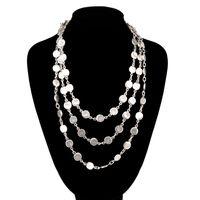Necklace women's balls (54016)