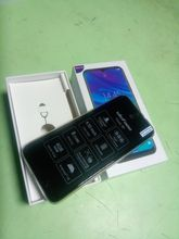 The box arrived whole, without damage, the phone turned on, 94 percent of charging, delive