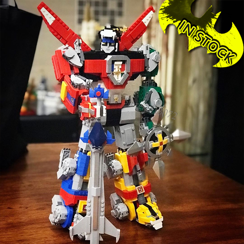 Ideas Series Voltron Defender Of The Universe In Stock 16057 Model 2334Pcs Building Block Bricks 83034 1130 39125  21311