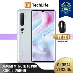 Wersja globalna Xiaomi Mi Note 10 Pro 256GB ROM 8GB RAM (fabrycznie nowe/uszczelnione) uwaga 10 pro  note10pro  note10256 w Telefony Komórkowe od Telefony komórkowe i telekomunikacja na