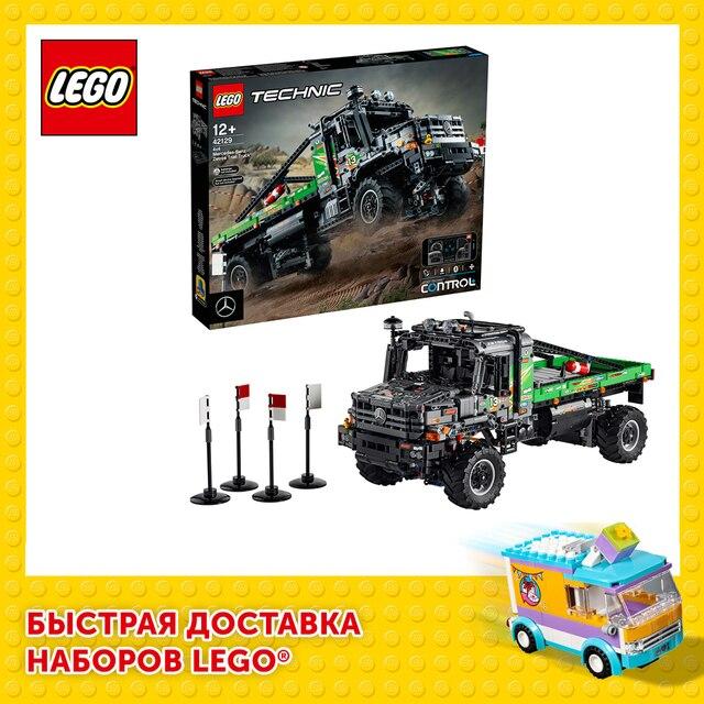 Конструктор LEGO Technic Полноприводный грузовик-внедорожник Mercedes-Benz Zetros 1