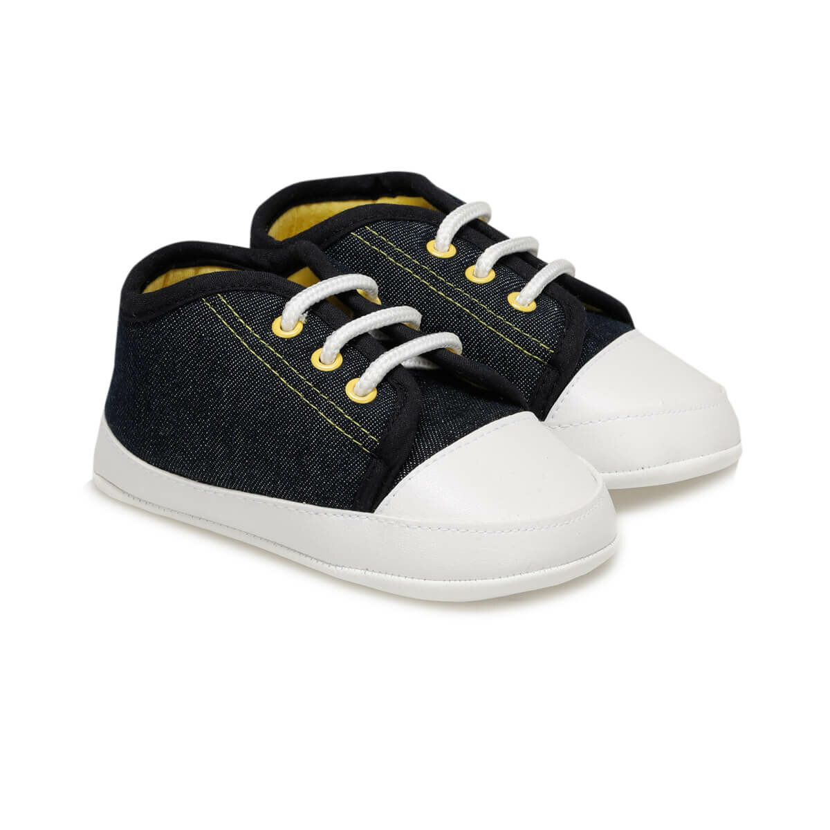 FLO 1271 Navy Blue Male Child Shoes MINITTO