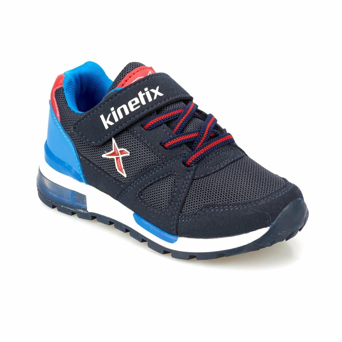 FLO RIVERO Navy Blue Male Child Sneaker Shoes KINETIX