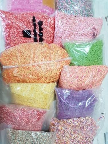 -- Polímero Decoração Frutas