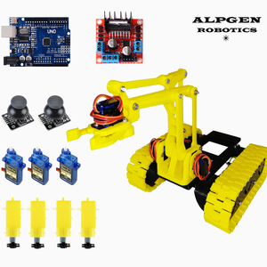 Robot Tank 3D Robotic Arm DIY