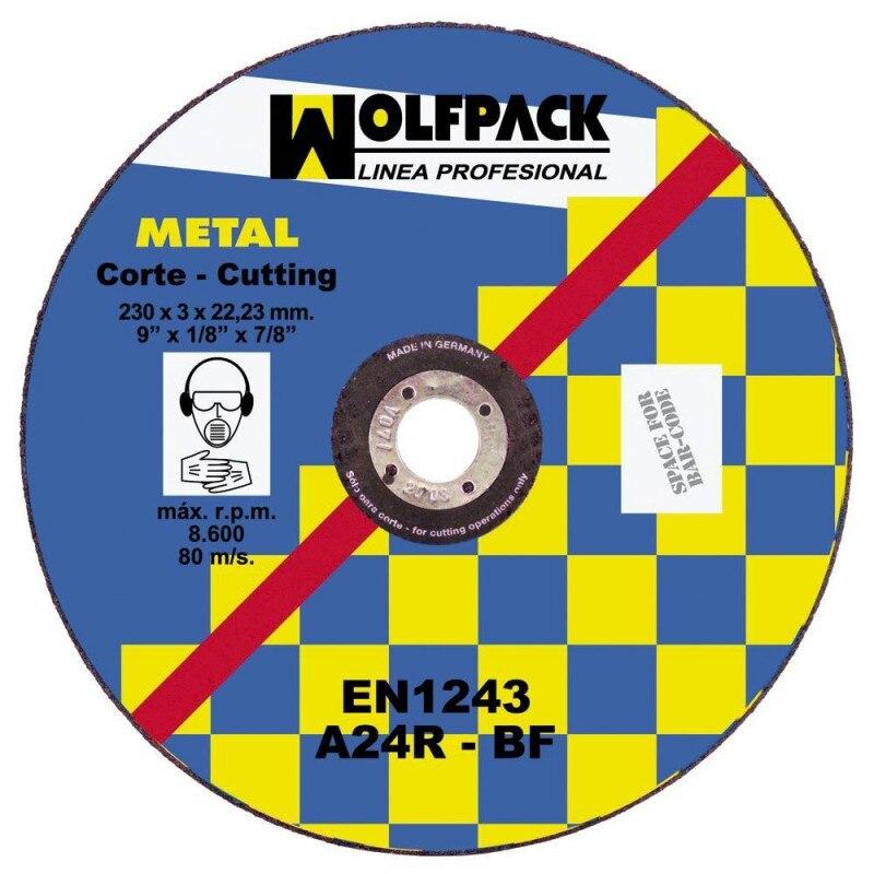 Cutting Disc Abrasive Metal 230x3,2x22mm.