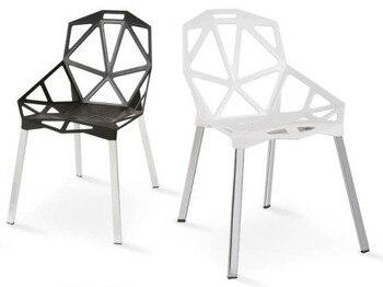 Chair CAMY, aluminum, polypropylene White *