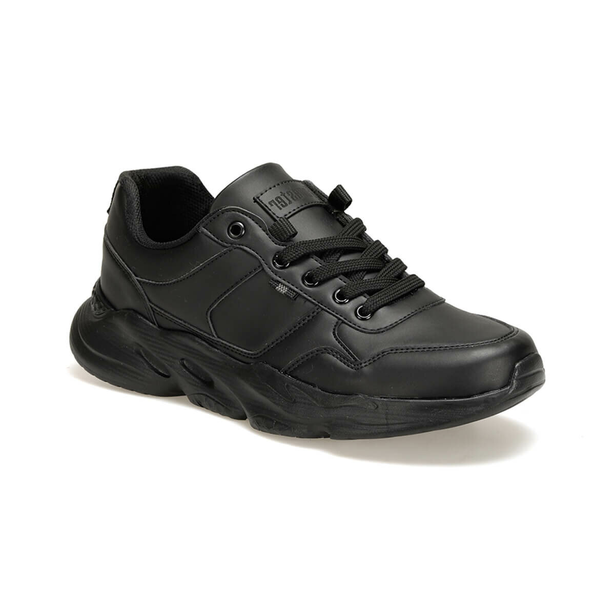 FLO EKL-205 PU Black Male Shoes Forester