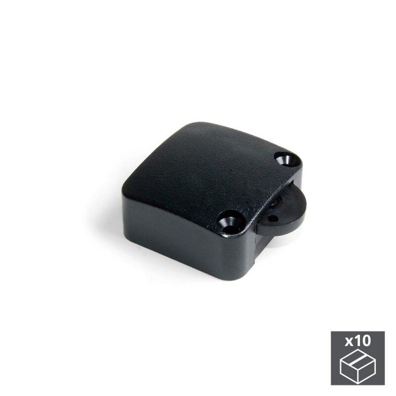 Lot Of 10 Switches Emuca Door In Black Plastic