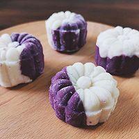 零失败❗️山药紫薯糕的做法图解10