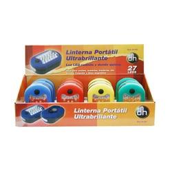 Упаковка 12 шт (Экспонент) фонарь 27 LED Портативный Супер Яркий электро DH 60,364 8430552141166