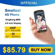 "Cubot KingKong מיני 4 ""QHD + 18:9 מחוספס טלפון עמיד למים 4G LTE כפולה ה SIM 3GB + 32GB אנדרואיד 9.0 חיצוני Smartphone קומפקטי טלפון"