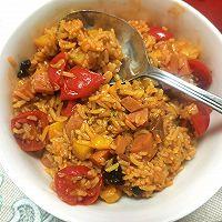 番茄焖饭的做法图解5