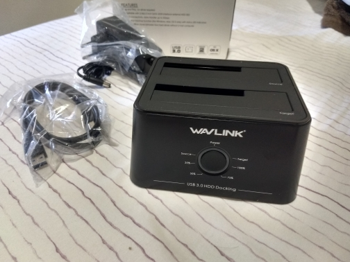 Wavlink Dual Bay SATA to USB3.0 External Hard Drive Docking Station for 2.5/3.5inch HDD/SSD Offline Clone/Backup/UASP Functions reviews №4 38729