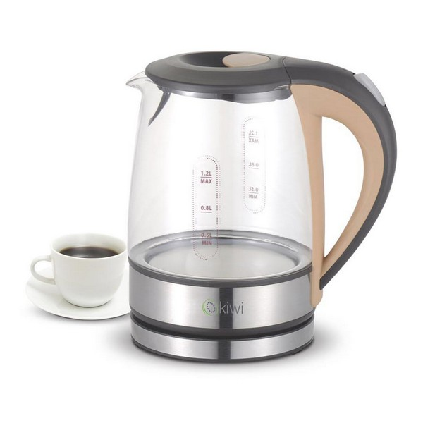 Kettle Kiwi KK-3320 1,2 L 1630W Glass