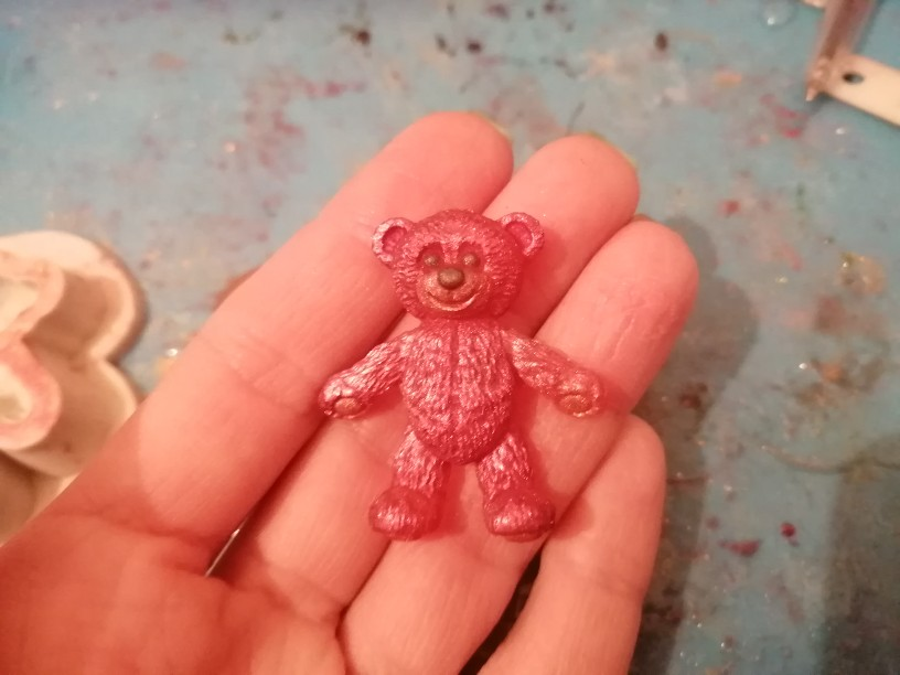 Mini Bear Silicone Mold photo review