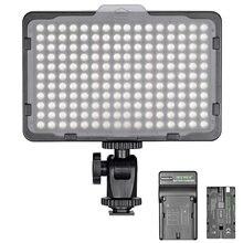 Neewer Диммируемый 176 светодиодный видео свет на камере Светодиодная