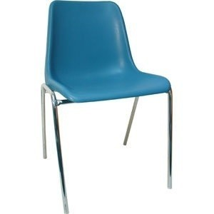 Chair ENCLOSURE Polypropylene Blue