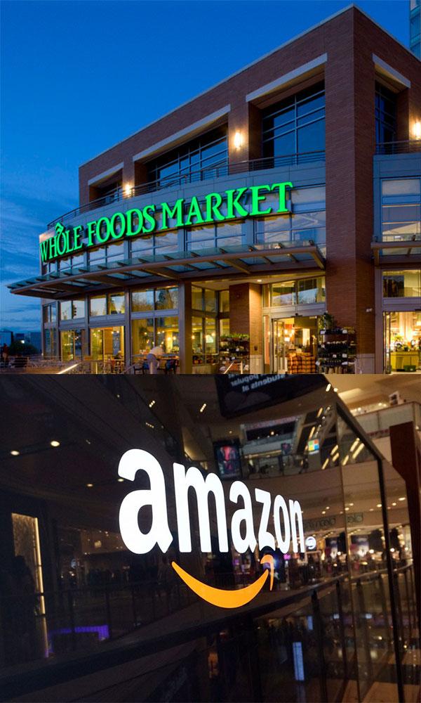 亚马逊收购全食超市