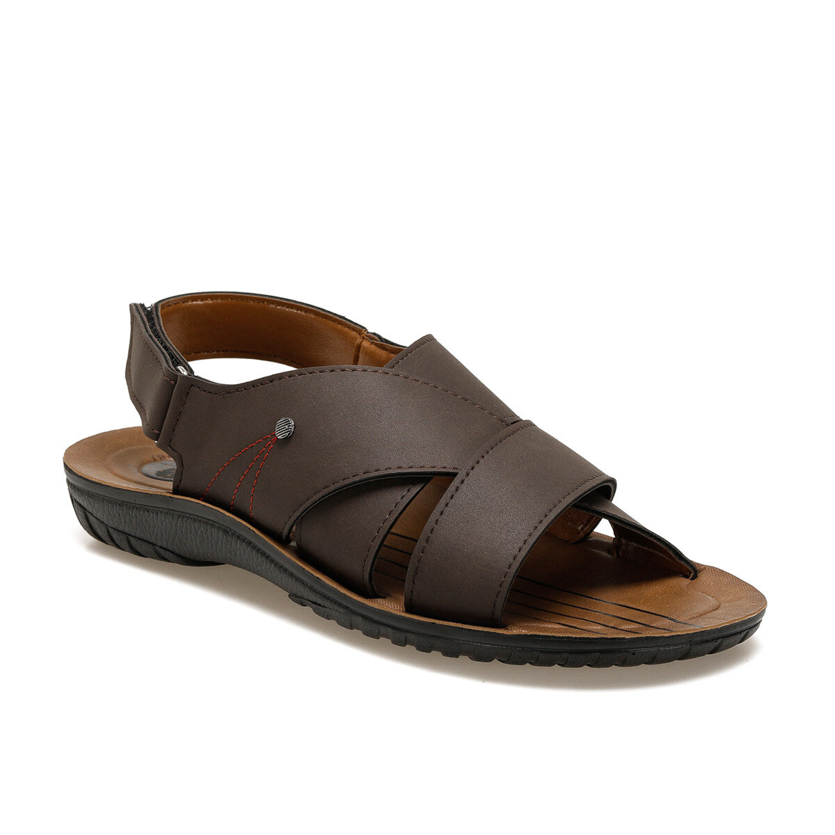 FLO MS-1 C Brown Male Sandals Panama Club