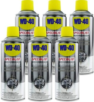 WD-40 Specialist Motorbike Pack 6 PCs-silicone Spray opener 400ml wd 40 bike pack 6 pcs total bicycle cleaner sprayer 500ml