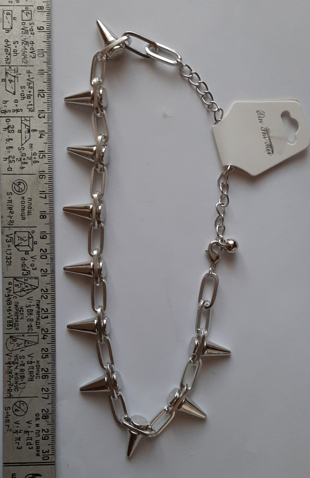 Gothic Choker Necklace with  Spikes photo review