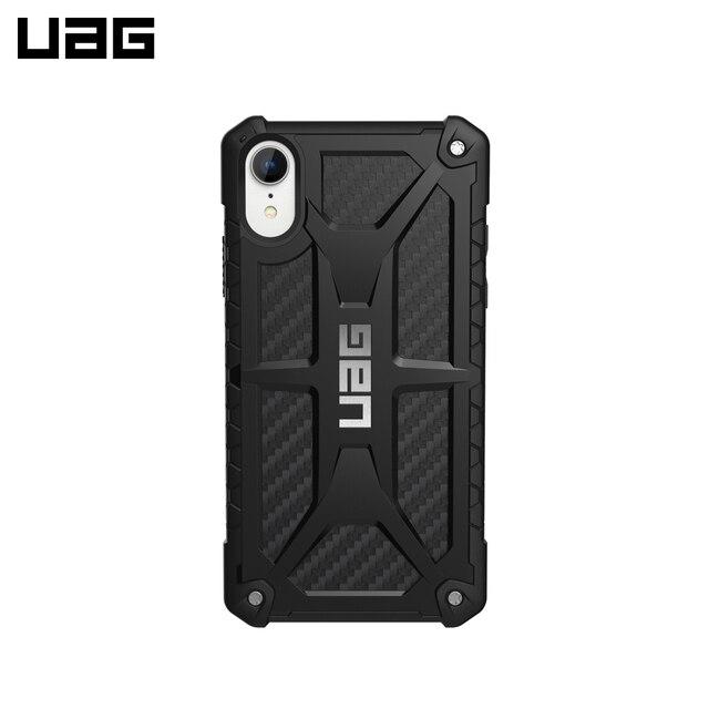 Защитный чехол UAG для iPhone XR серия Monarch цвет карбон/111091114242/32/4