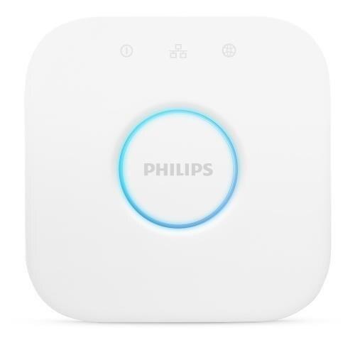 Philips Hue - Puente De Conexión Controlable Vía WiFi, Iluminación Inteligente