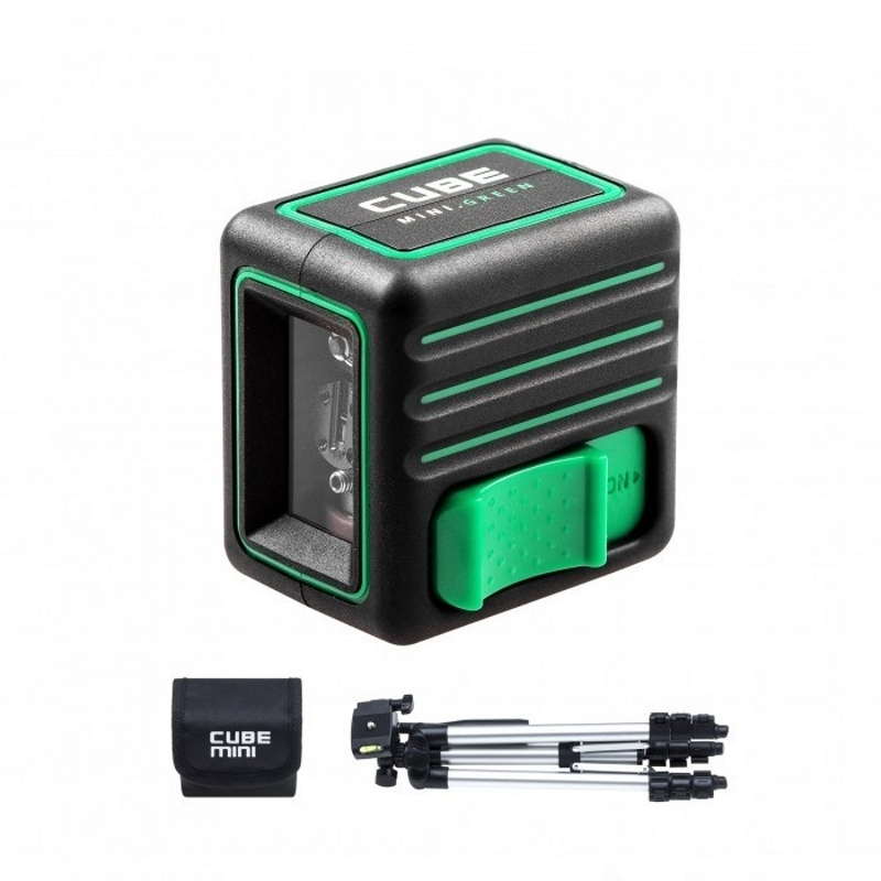 Laser level automatic ADA Cube MINI Green Professional Edition (Horizontal, vertical tripod bag