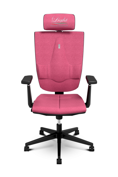 Office Chair KULIK SYSTEM SPACE Coral Computer Chair Relief And Comfort For The Back 5 Zones Control Spine