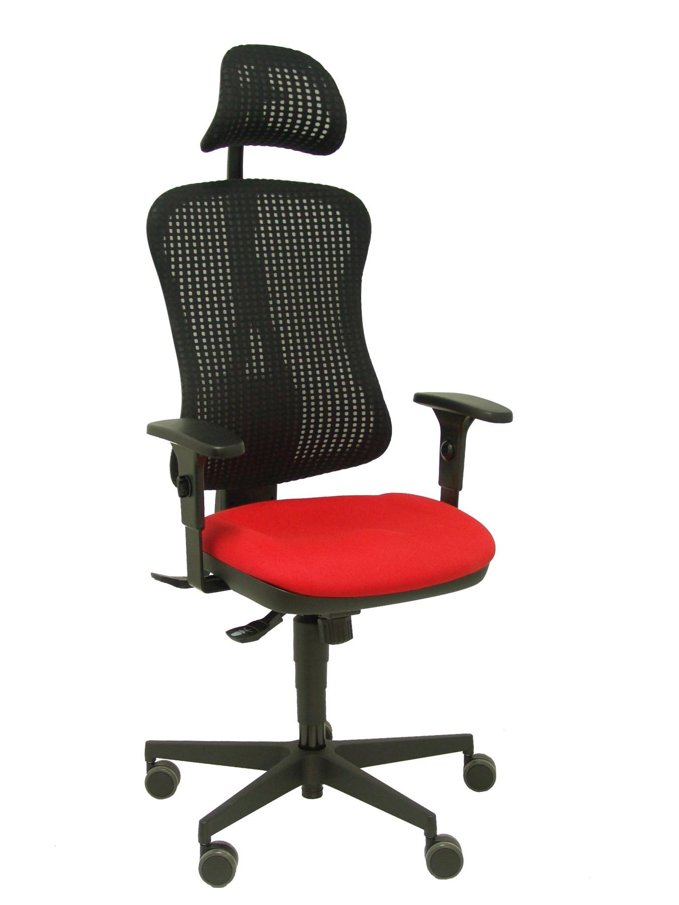 Office chair ergonomics headboard mechanism synchro  arms adjustable breathable mesh Backrest color|  - title=