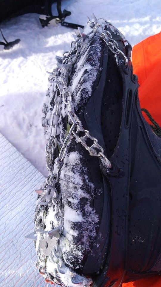 -- Crampons Snowshoes Manganês
