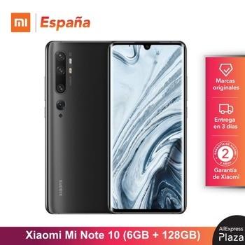 Xiaomi Mi Note 10 (128GB ROM, 6GB RAM, Cámara 108 MP, Android, Nuevo, Libre) [Teléfono Movil Versión Global para España]
