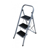 Treppe Altipesa EN14183 (3 Schritte) Stahl auf