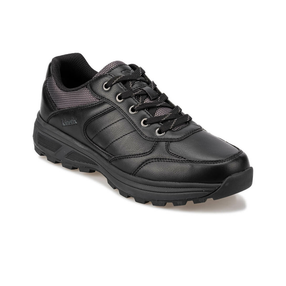 FLO SANEL 9PR Black Male Shoes KINETIX