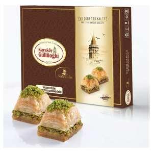 1Kg Gulluoglu Turkish Baklava with Pistachio, Dessert, Sweet within 3 days by DHL